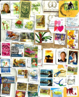 "AUSTRALIA LOT270 MIXTURE OF50+ USED STAMPS SOME 2012/14 INC.NEWEST ""LEGENDS "",$2.10 FLOWER &COCOS ETC READ DESCRIPTION!! - Timbres"