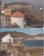 GREECE - Kea Island(orange Writing), 10/97, Used - Greece