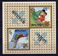 Bhutan - 1967 - Boy Scouts Miniature Sheet - MNH - Bhoutan