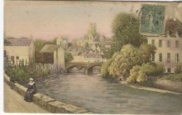 Unknown Postcard, River Scene, Luxographie Serie 26 - Peintures & Tableaux