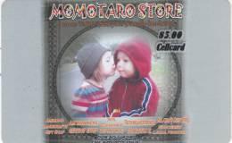 MARSHALL ISLANDS - Momotaro Store, M.I.N.T.A. Prepaid Card $5, Used - Marshall Islands