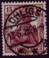 Deutsches Reich 1920 - Germania - MiNr 142 Perfo - Stempel: Ohligs 17.5.20 (Solingen) - Gebraucht