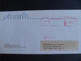 AFFRANCATURE MECCANICHE ROSSE- SIRRAH 16.11.1983  IMOLA - Affrancature Meccaniche Rosse (EMA)