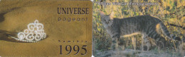 2 telefoonkaarten namibie wild cat + miss universe crown