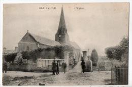 50 -  BLAINVILLE . L´ÉGLISE - Ref. N°2449 - - Blainville Sur Mer