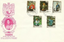 Penrhyn 1981 International Year Of Disabled FDC - Penrhyn