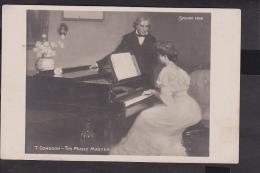Salon De Paris 1906  Congdon - The Music Master - Andere Zeichner