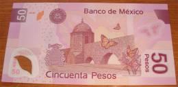 Billet 50 Pesos Neuf  (Aqueduc De Morelia. 253 Arches) José Maria Morelos. Deux Photos - Mexiko