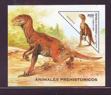 SAHARA REPUBLIC - 1997 DEINONYCHUS S/SHEET MNH - Briefmarken