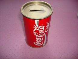 Tirelire Coca-Cola Entièrement Fermée 33 Cl - Coca-Cola