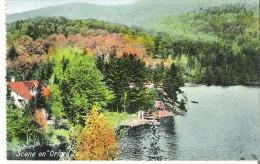 Scene Sur Lac Orford, Scene On Orford Lake , Magog, Quebec - Quebec