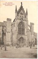 Reims CPA Eglise St Remi Petit Portail En 1912 N°106, Avec Cachet PORTO, Taxée - Reims