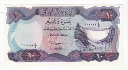 IRAQ   billet de 10 dinars
