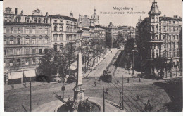 Magdeburg Hasselbachplatz Kaiserstrabe - Magdeburg