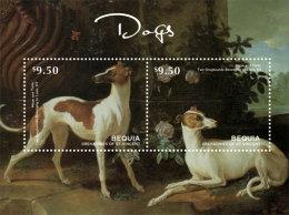 BEQUIA Of ST.VINCENT ; SCOTT # ; IGPC 1402 S ; MINT N H STAMPS (  DOGS - St.Vincent & Grenadines