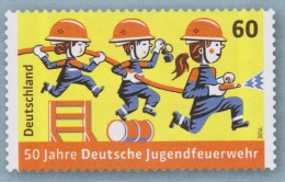 D 466) BRD MiNr 3099 **: Jugend Feuerwehr, Jeunesse Pompier, Young Fire Brigade - Bombero