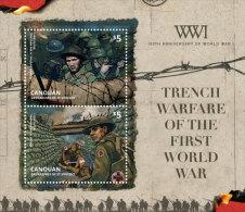 CANOUAN Of ST.VINCENT ; SCOTT # ; IGPC 1405 S ; MINT N H STAMPS (  WORLD WAR I - St.Vincent & Grenadines