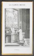 IMAGE PIEUSE (vers 1920) :  SERIE LA SAINTE MESSE N°16 - LE PRETRE RECITE LA PREFACE - HOLY CARD - Images Religieuses