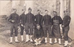 CPA - PHOTO 17 ème Régiment De Chasseurs Alpins Militaria Militaire Soldat - Regiments