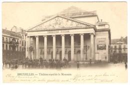 BRUXELLES   --  Théâtre Royal De La Monnaie - Monuments