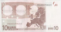 VF NOTA 10 EUROS DO PAYS BAS G006 G1  ASSINATURA  W.D. UNC  W.D. - EURO