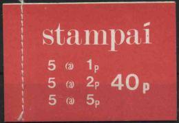 1971 Irlanda, Libretto 40 P Nuovo (**) - Libretti