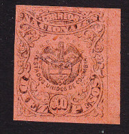 Colombia, Scott #65, Mint Hinged, Coat Of Arms, Issued 1870 - Colombia