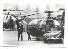 Retour du G�n�ral De Gaulle de Baden Baden, le 29 mai 1968 , cpm, non voyag�e, photo Henri Bureau Gamma