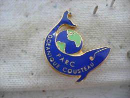 Pin´s Du Parc Océanique COUSTEAU. Requin - Associations
