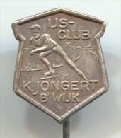 FIGURE SKATING - IJS CLUB K.JONGERT, Pin, Badge - Patinaje Artístico