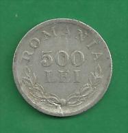 = ROMANIA - 500 LEI  - 1946   # 139 = - Roumanie