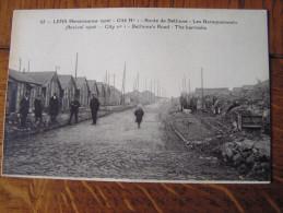 CPA - LENS (Renaissance 1920) - Cité N° 1 - Route De Béthune - Les Baraquements - Lens