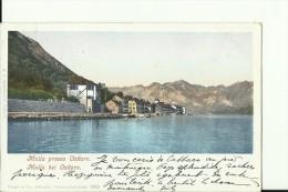 CG267  --   MULLA PRESSO CATTARO  --   MUO  --  1910 - Montenegro