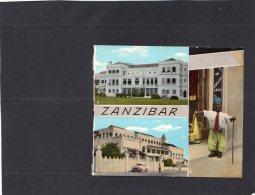"""47987    Zanzibar,  2. State House, 3. People"""" Palace, 4. Asmani With """"Dele"""",  NV - Tanzania"""