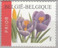 Belgique 2002 COB 3142 Neuf ** Cote (2016) 1.50 Euro Crocus Vernus - Belgique