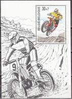Belgique 1999 COB Bloc Feuillet 79 Neuf ** Cote (2016) 2.50 Euro Motocross - Blokken 1962-....