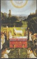 Belgique 1986 COB Bloc Feuillet 62 Neuf ** Cote (2016) 7.50 Euro L'Adoration De L'Agneau Mystique - Blokken 1962-....