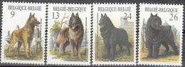 Belgique 1986 COB 2213 - 2216 Neuf ** Cote (2016) 5.50 Euro Races Canines Belges - Neufs