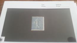 LOT 217753 TIMBRE DE FRANCE NEUF* N�132 VALEUR 84 EUROS