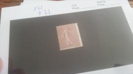 LOT 217755 TIMBRE DE FRANCE NEUF* N�131 VALEUR 77 EUROS