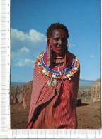 KENYA  -   Jeune Fille  Masai - Kenia