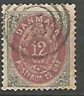 DANEMARK N� 25a  OBL TB