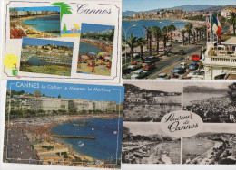 Lot De 50 Cartes Cannes - 5 - 99 Cartes