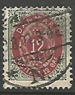 DANEMARK N� 25  OBL TB