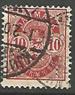 DANEMARK N� 36  OBL TB
