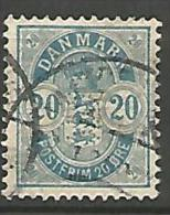 DANEMARK N� 37  OBL TTB
