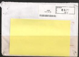 Frankeervignet  Op Brief   PP  Carr Market Grace Holl - Automatenmarken (ATM)