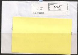 Frankeervignet  Op Brief   PP  Delhaize Epinois - Automatenmarken (ATM)