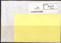 Frankeervignet  Op Brief   PP  Carrefour Strombeek - Automatenmarken (ATM)