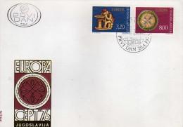 FDC EUROPA CEPT 1976,Yugoslavia, - 1976
